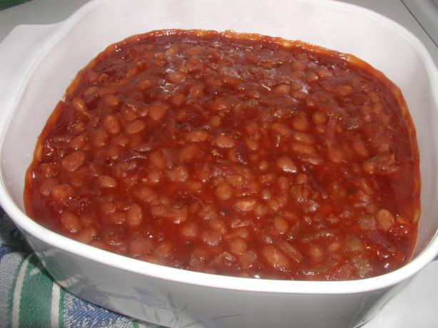 Baked Beans (Western Style)