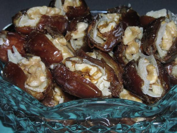 Tasty Dates Stuffed With Parmesan