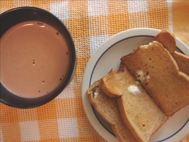 Hot Chocolate and Toast