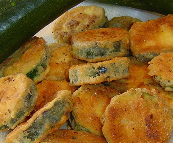 Fried Green Zucchini