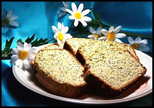 Eggnog Poppy Seed Bread