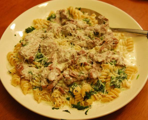 Warm Gorgonzola Sauce