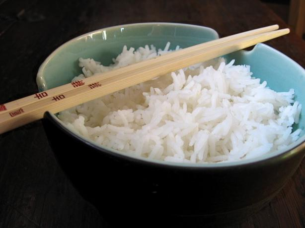 The Easiest White Rice Ever