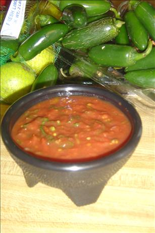 Easy Peasy Canned Salsa
