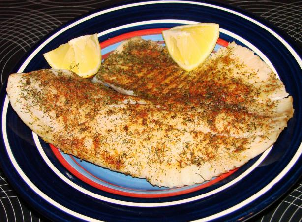Tilapia With Dill and Paprika