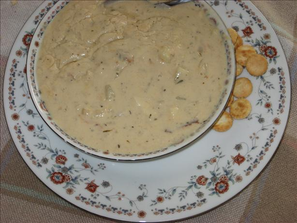 The Real Deal New England Fish Chowder
