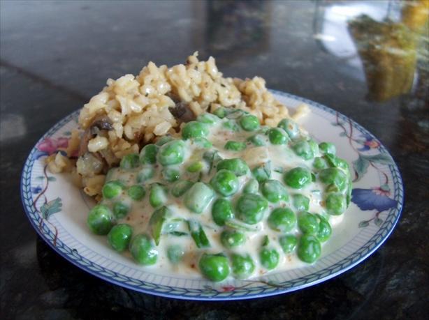 Creamy Peas