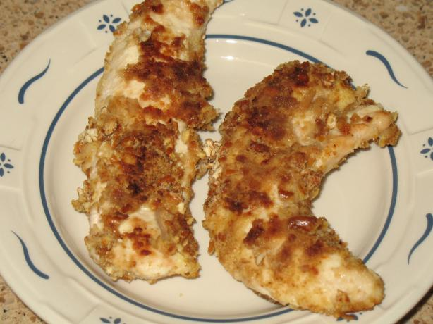 Parmesan Pretzel Chicken