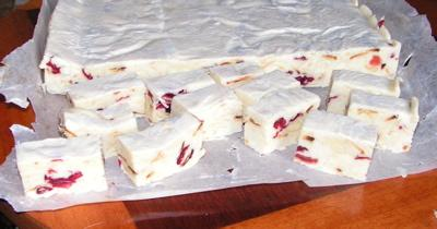 White Chocolate Nougat