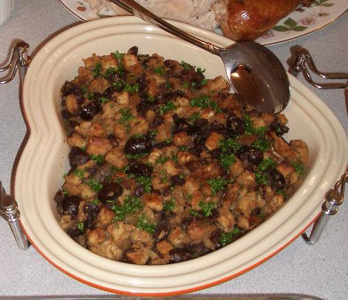 Chestnut, Onion, Currant Stuffing