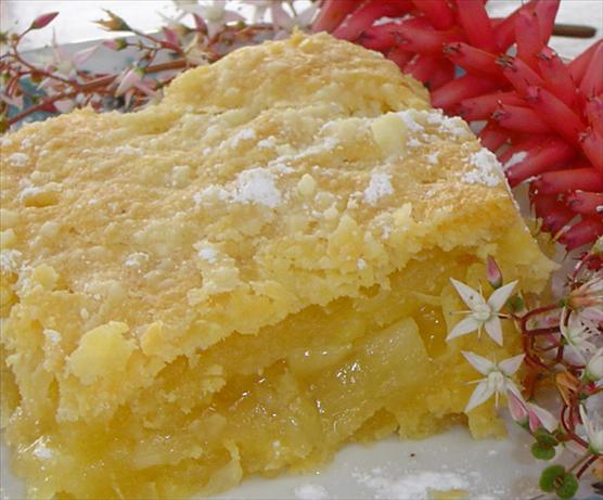 Flaky Pineapple Bars