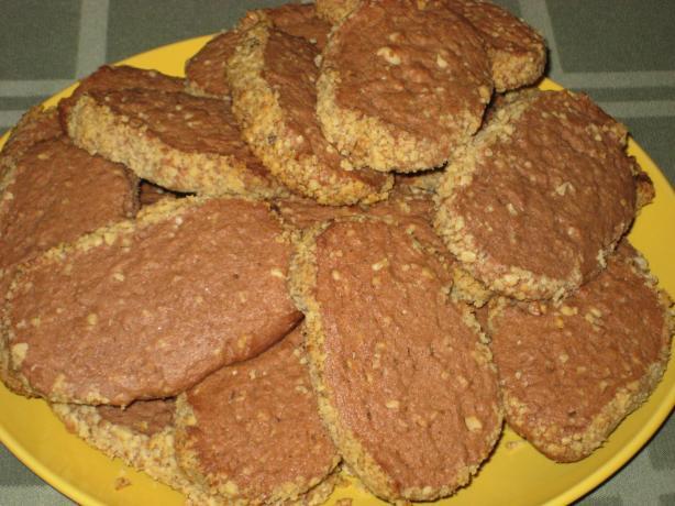 Chocolat Walnut Cookies