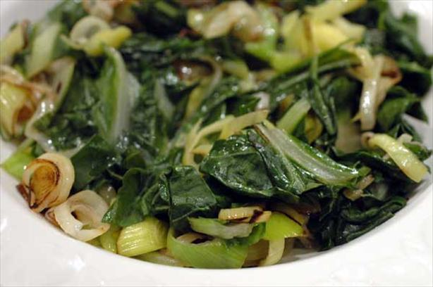 Leeks With Greens