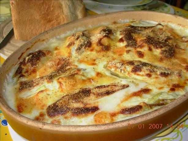 Chicory/Witlof With Gruyere and Ham