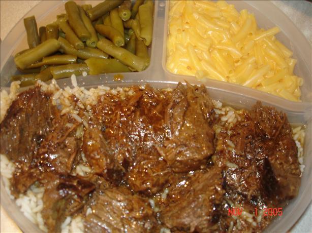 Round Steak in It's Own Gravy!