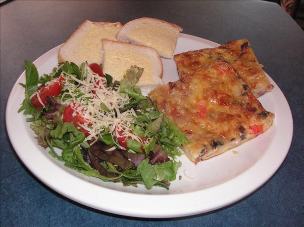 Schüttel-Pizza (Shaken Pizza)
