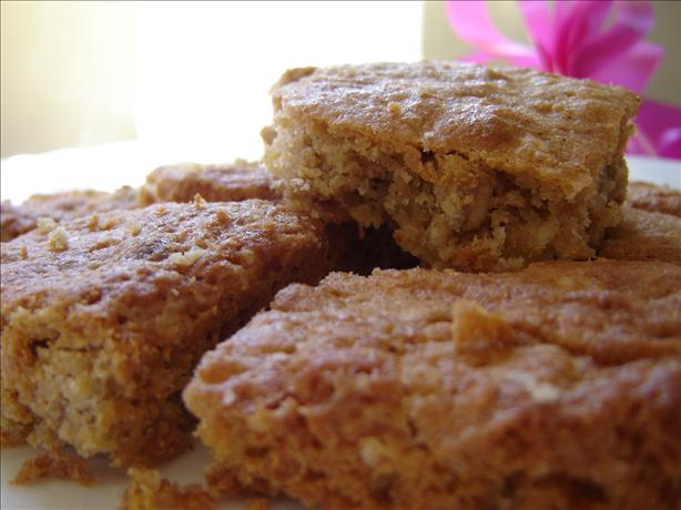 Chocolate Oat Blondies