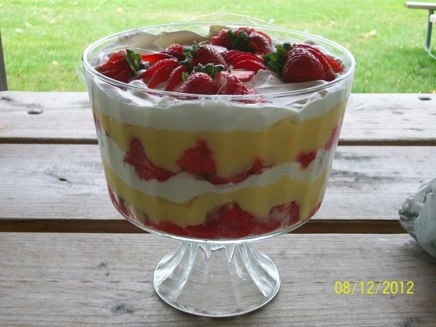 Strawberry Trifle (Diabetic)