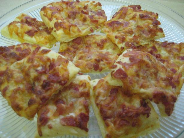 Cheese and Bacon Sticks