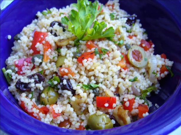 Strange yet Wonderful Couscous Salad