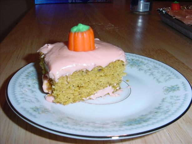 Birthday Pumpkin Bars