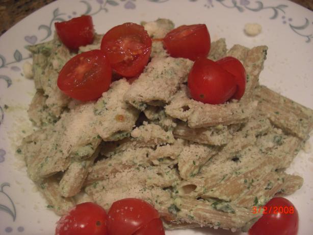 Pasta With Ricotta Pesto