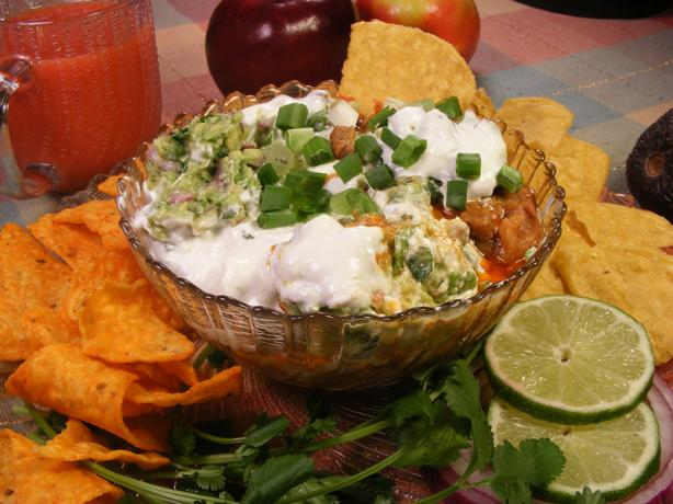 Warm Layered Bean Dip