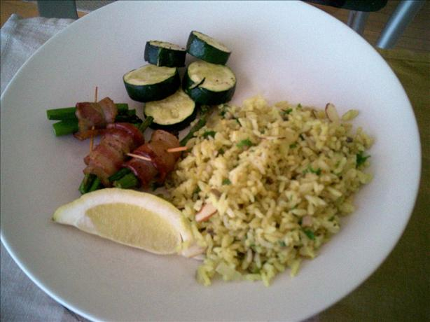 Curry and Lemon Pilaf
