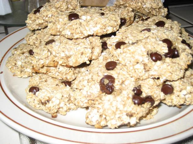 Sugar-Free Oatmeal Banana Raisin Cookies