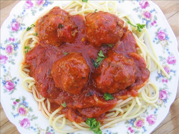 Easy Spaghetti and Meatballs