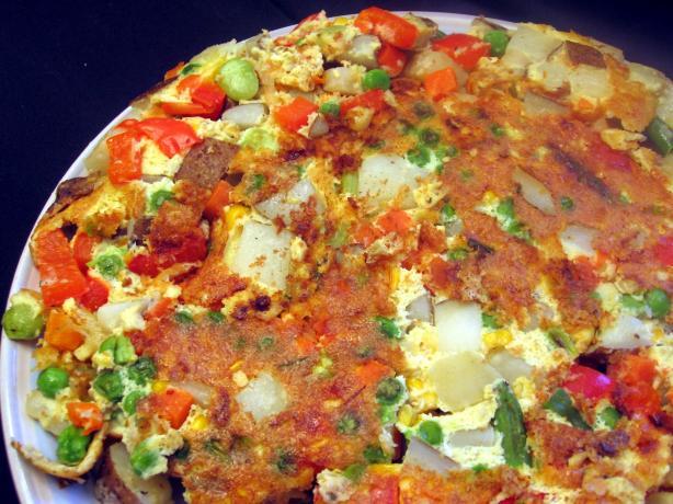 Anne Willan's Summer Vegetable Frittata