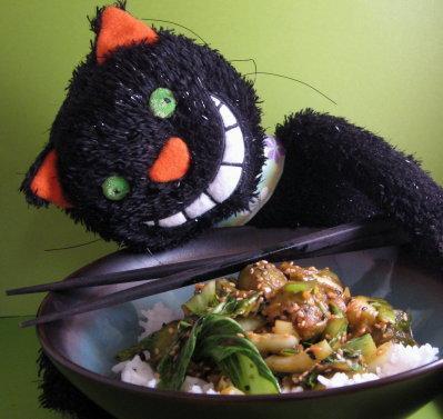 Crunchy Stir Fried Sesame Greens