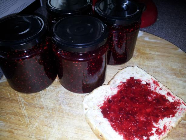 Chocolate Raspberry Jam (Canning Recipe)