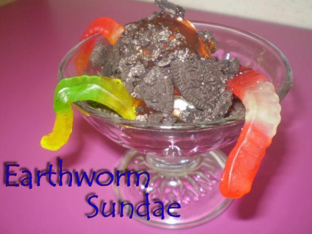 Earthworm Sundae