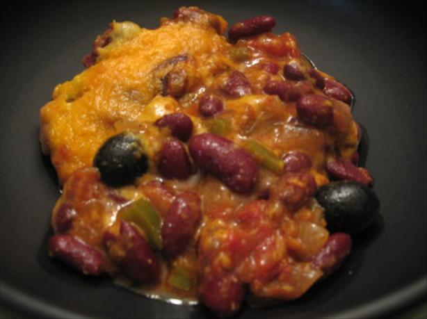 Easy Kidney Bean and Cheese Casserole