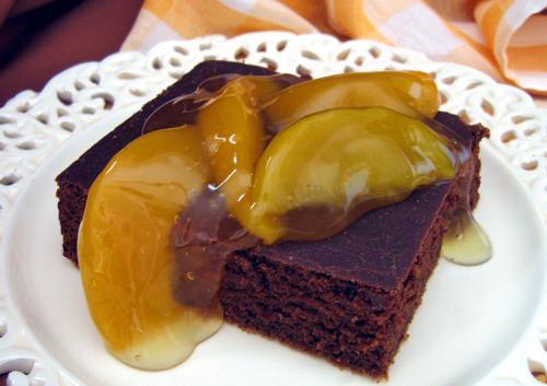 Light Version Chocolate Cinnamon Mayo Cake