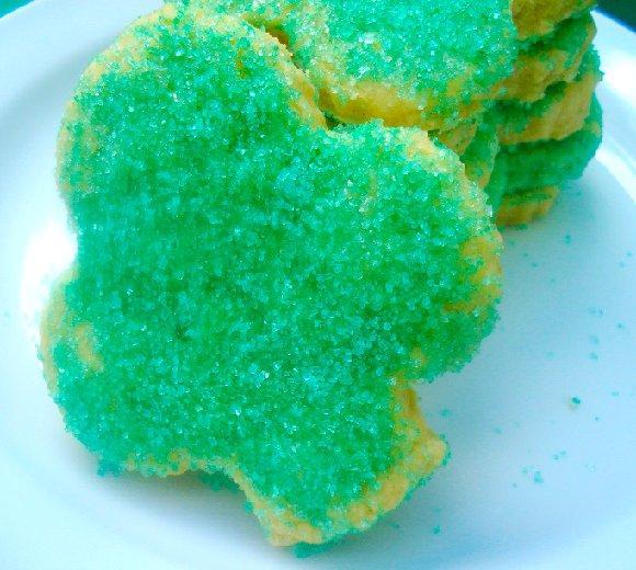 St. Patrick's Shamrock Cookies
