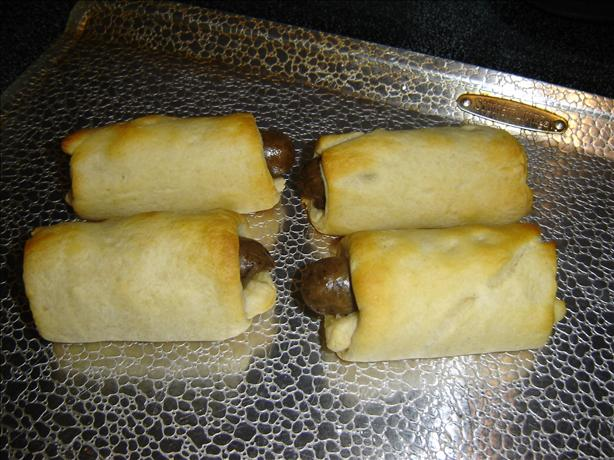 Crescent Sausage Snacks