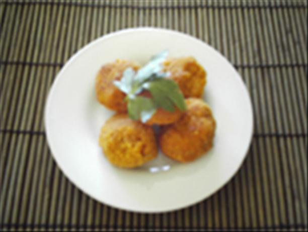 Pumpkin and Goat Cheese Croquettes