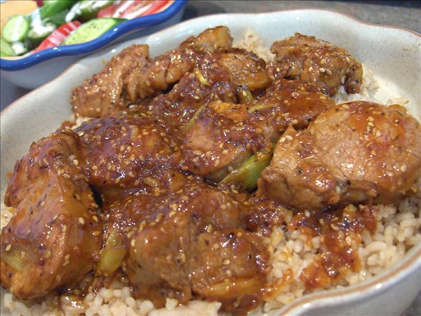 Asian-Chili Pork Tenderloin
