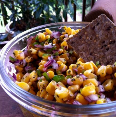 Corn Salsa Just Like Chipotle's