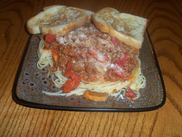Pasta Meat Sauce