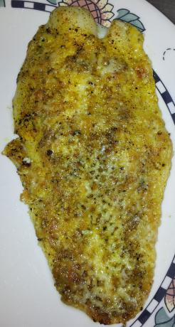 Baked Fish With Marble Cheddar Cheese