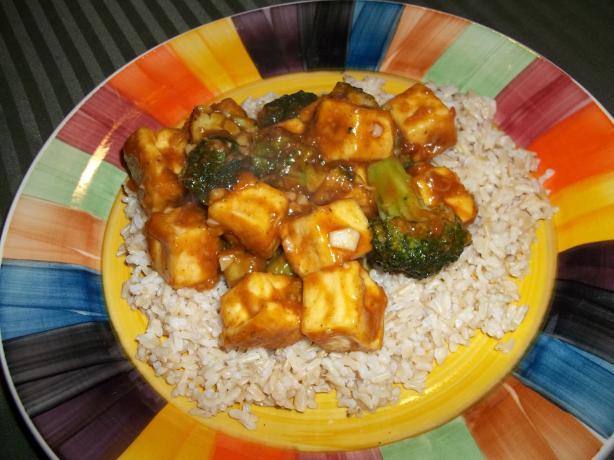 General Tsao's Tofu(Vegan)