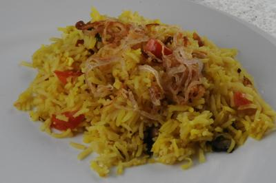 Nasi Biryani - Celebration Rice (Brunei)