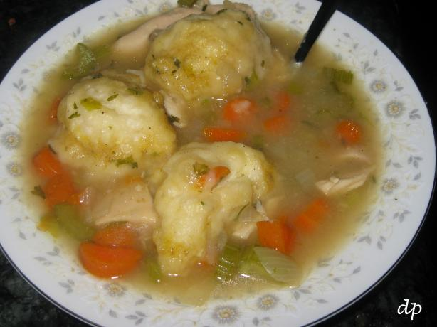Easy Chicken & Drop Dumplings