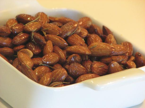 Provencal Rosemary Almonds