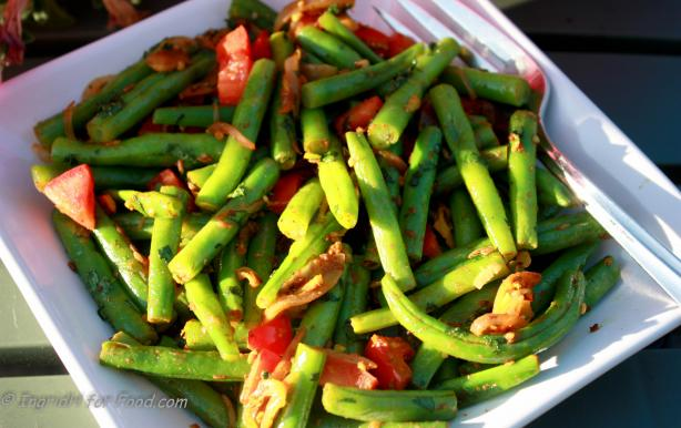 Green Beans With Cumin and Fennel