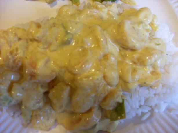 Curry of Shrimp