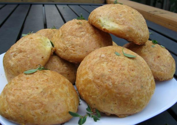 Thyme Gougeres